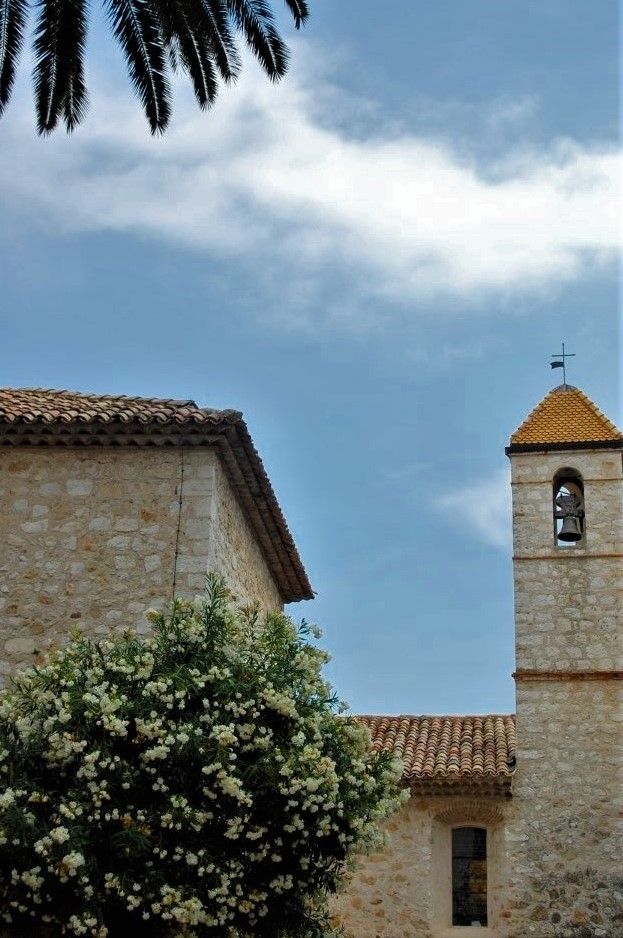 a Medieval stone bell tower